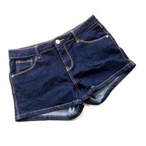 Papaya Dark Jean Shorts Large